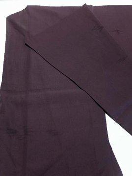 正絹 単衣の色無地 ★★★ 【D/M】 (67/162/49) 燕絣風 中古