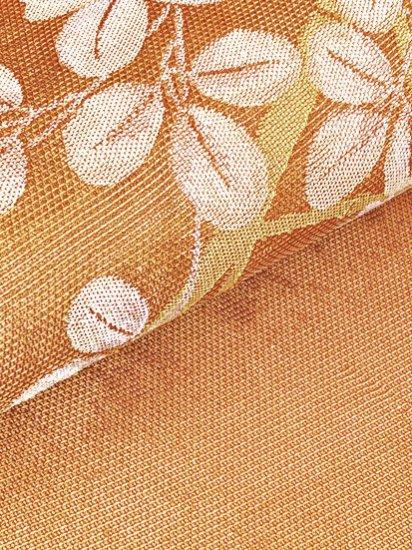 正絹 ポイント柄九寸名古屋帯 ★★★★ 【標準】 (30.5/360) 萩 【夏帯】 中古-