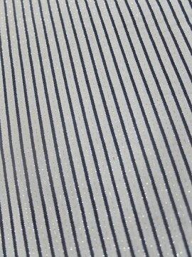単衣仕立てのウールの着物 ★ 【B/R】 (63/151.5/47.5) 縞 中古