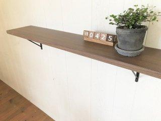棚板/シェルフ/飾り棚/DIY棚(長さ90cm×奥行18cm)※特価品