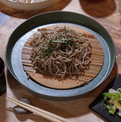 deep green 切立大皿