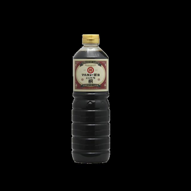こいくち醤油 桐 1Lペットボトル
