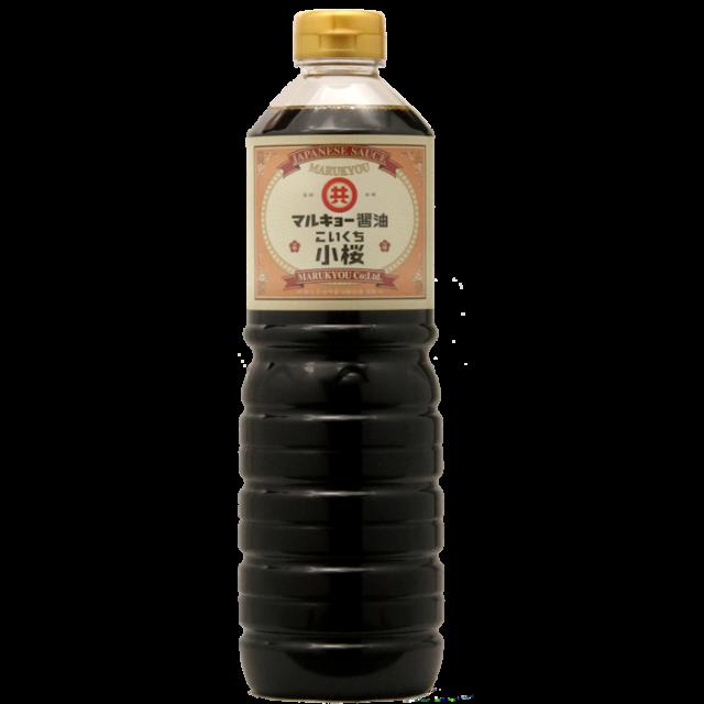 こいくち醤油 小桜 900ml