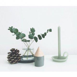 tallow candle  greenvelvet