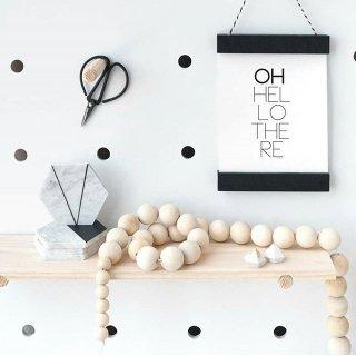 interior motives aus poster hanger black A5/ A4/ A3