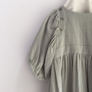 himher  pajama dress pale green