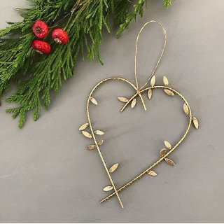 runi heart ornament