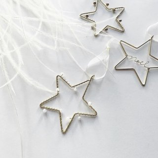 runi star ornament 3set
