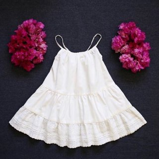 aubrie petticoat frock dress ivory