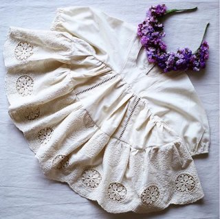 aubrie anne of avonl eafrock dress antique