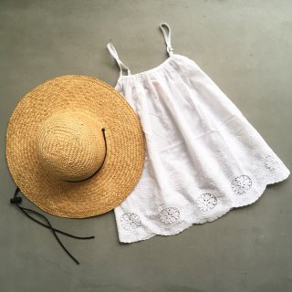 aubrie slip dress white