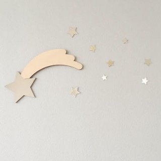 unicorn&unicorn shooting star mirror