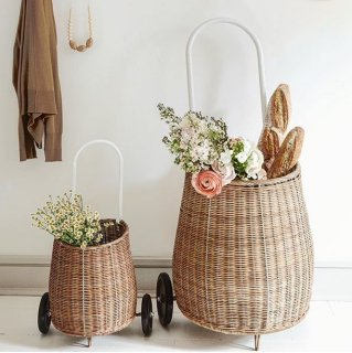 olliella luggy basket L size natural