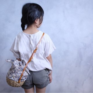 yoccoh KIDS coconut bag x matao special model  grey