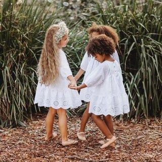 aubrie anne of avonl eafrock dress white