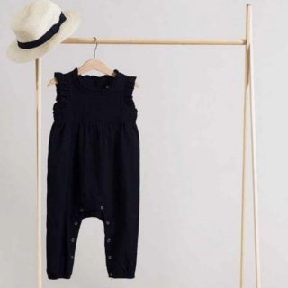 minimom nancy jumpsuit black