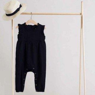 minimom nancy jumpsuit black 受注オーダー会4月末納期予定 1月20日まで受付中