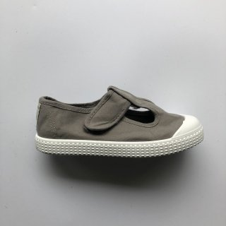 t bar shoes gris