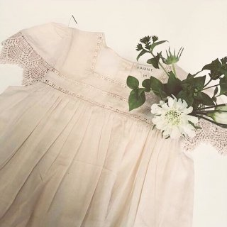 faune skylark dress natural blush