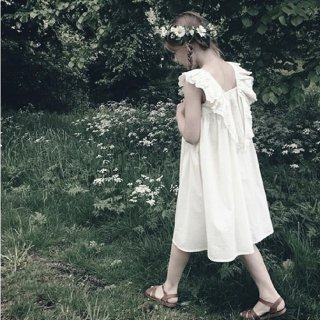 faune the wren the embroidered dress vintage white 3月末入荷予定 ご予約受付中