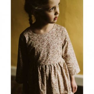little cotton clothes grace dress pinkfloral