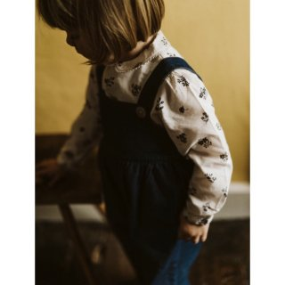 little cotton clothes margo dungarees denim