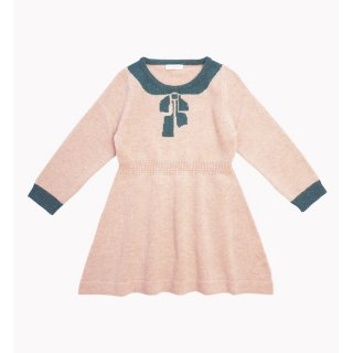 happyology florrie knitted dress rose