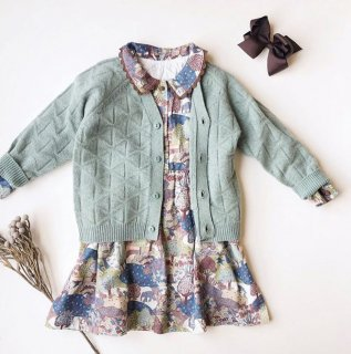 Last1! happyology abbott cardigan dustymint