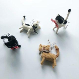 bloomingville cat ornaments 4set