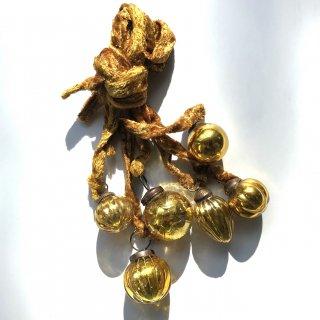 Last1! bloomingville ornament gold 6set