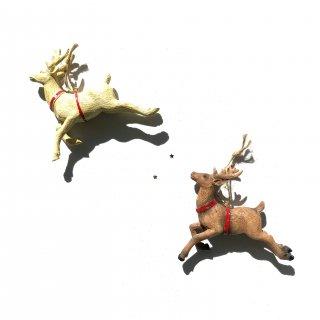bloomingville deer ornaments 2set