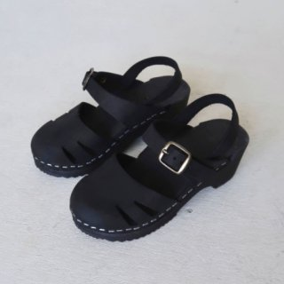 house of paloma marion clog noir