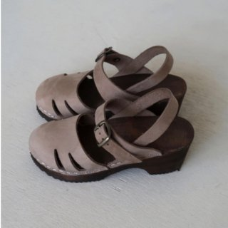 house of paloma marion clog chocolate