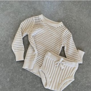 miann&co knit bloomer natural