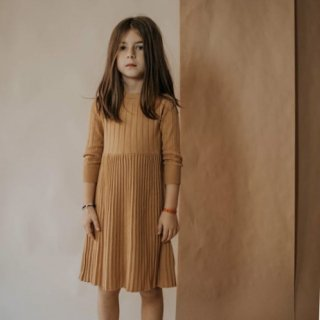 repose ams knit dress smooth camel