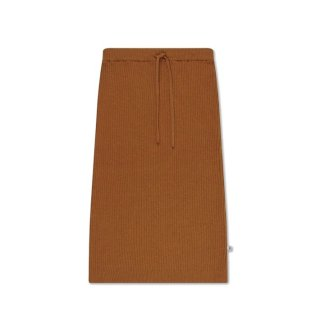 repose ams knit dress knit skirt wormed rust