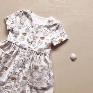 india&grace summer floral button up dress