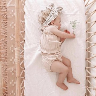 india&grace macadamia crop and shirred bloomer set