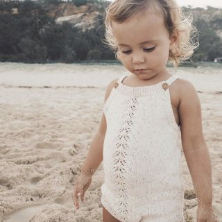 jamie kay casey playsuit oatmeal marle