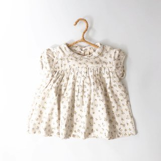littlecottonclothes junotop tiny buttercup floral