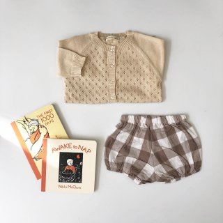 little cotton clothes poppy bloomer gingham cinder