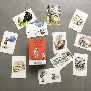Winnie the pooh 100 postcard set 7月入荷予定ご予約受付中