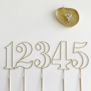 runi number stick gold