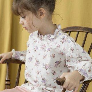 happyology  mille blouse violet floral