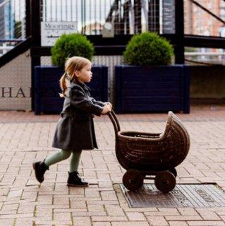 happyology darlington wool coat royal grey