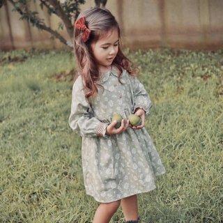 Last1! happyology  palmeria dress antique green floral