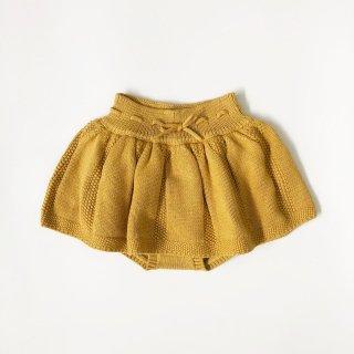 happyology  roseleigh knitted short mustard