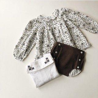 littlecottonclothes  josephine blouse daisy floral