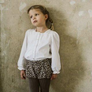little cotton clothes connie blouse offwhite