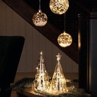 rader LED glass firetree star gold